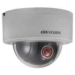 Buy Hikvision us Version DS-2DE3304W-DE Network Camera, Mini PTZ 4X Zoom, Day/Night, 3mp. US Version...