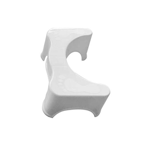 LACKINGONE Squatty Stap Toilet Kruk Badkamer Potty Squat Hulp voor Constipatie Relief Potty Helper Potty Kruk Toilet Squatty Badkamer Squat Assistant Stap Badkamer