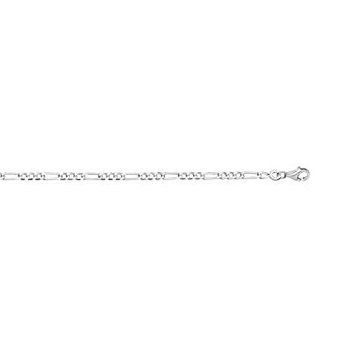 FranceBijoux-FLASH venta negro cadena-Anillo para hombre de plata maciza 925° ° °-11gr largo 50 cm de largo, 4 mm de malla Hawai 1, 3-nuevo