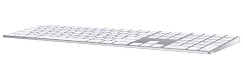 Apple Magic Keyboard with Numeric Keypad (Wireless, Rechargable) (British English) - Silver