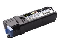 Dell 593-11036 2150cn / cdn / 2155cn / cdn Toner Cartridge Standard Capacity 1,200 Pages Pack of 1 Yellow