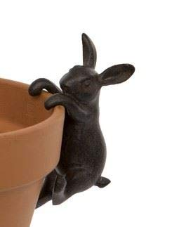 London Ornaments Hare Pot Hanger flower pot decoration
