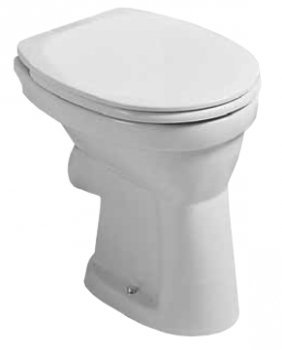 Laufen Object 2306.0 - Inodoro de pie, color blanco