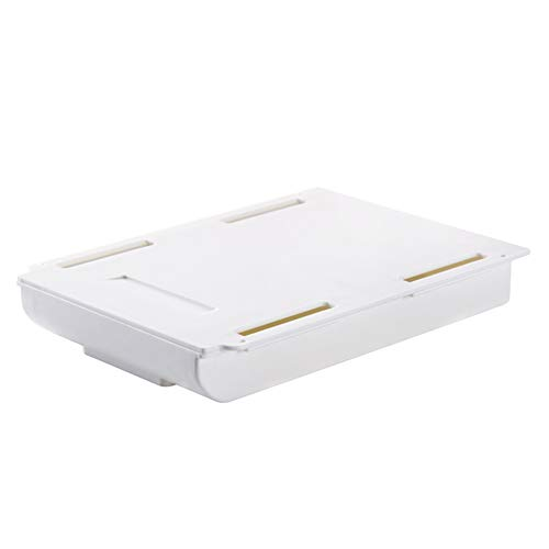 Caja de almacenamiento autoadhesiva para cajón, caja de lápices ABS
