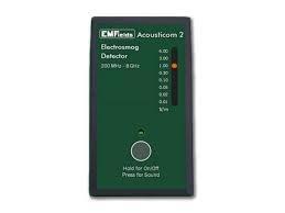 Acousticom 2 detector de fem, Medidas wifi, torres de telefonía celular, tetra, etc. contadores inteligentes - tamaño de bolsillo ligera discreta