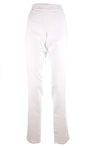 LUISA VIOLA Jeans Cotone Bianco Donna Taglie COMODE (Elena Miro) 37