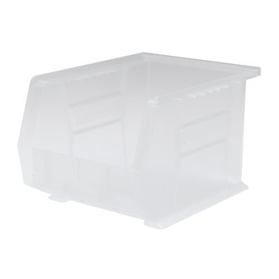 Clear AkroBins Deluxe Storage Containers 10-3 4