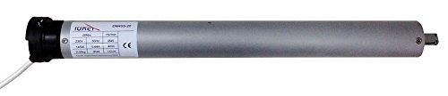 pequeño y compacto RIBER150.002 Motor tubular 20NW estándar 45mm, ajuste mecánico de carrera con cable,…