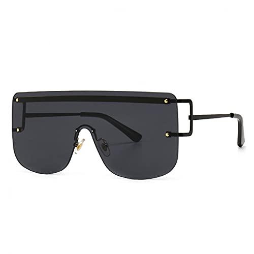 LUOXUEFEI Gafas De Sol Gafas De Sol Mujer Gafas De Sol Cuadradas De Gran Tamaño Hombres Gafas De Conducción
