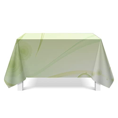 XGguo fácil de Limpiar, para jardín, Habitaciones, decoración de Mesa, Tejido de Textura Ligera de línea