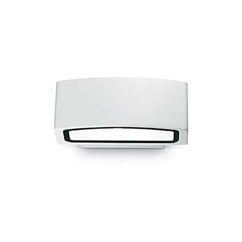 Ideal Lux Andromeda AP1 - Aplique de pared LED E27 exterior IP55 - blanco