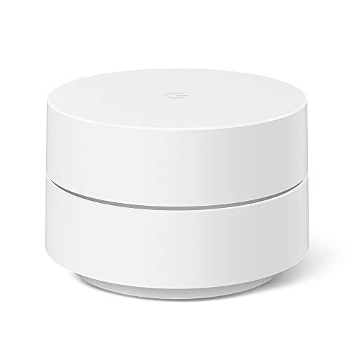 Google Wifi - Router Wifi de Malla, 1 Pack, Wi-Fi que Funciona, Cobertura hasta 85m² por Punto