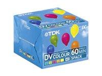 TDK DVM-60 MiniDV Videocasetten 5er Pack