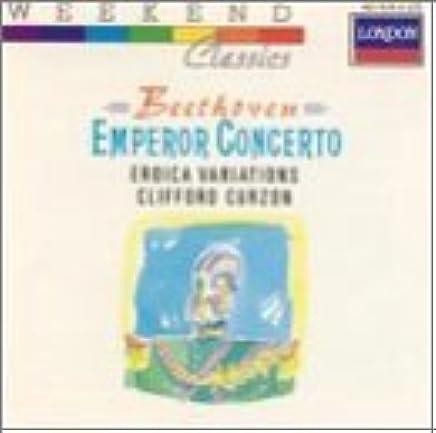 Piano Concerto 5 Emperor / Eroica Variations by Beethoven
