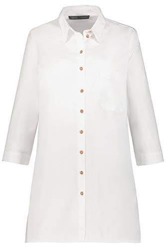 GINA LAURA Damen Oversized-Bluse weiß 38 749029 20-38