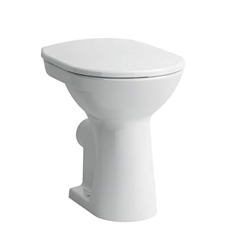 Laufen PRO Stand-Tiefspül-WC, Abg.waagrecht, 360x470 mm, Farbe: Weiß mit LCC
