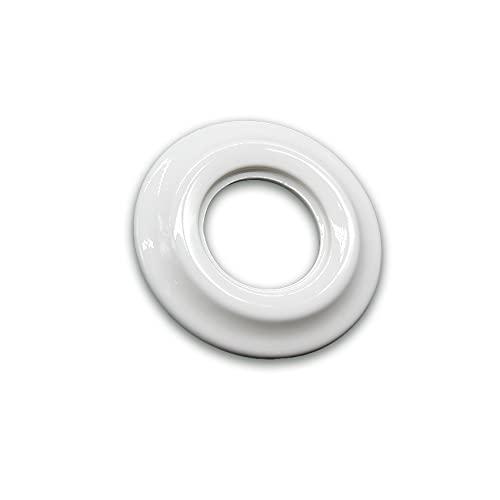 Marco individual superficie de porcelana (Marco empotrar individual porcelana)