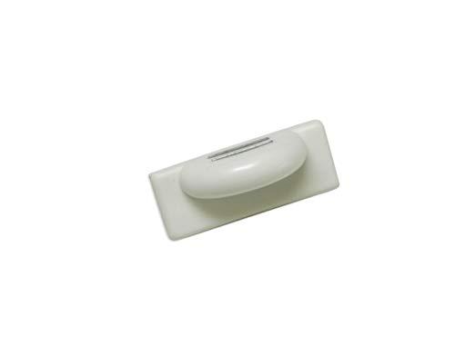 Gardinia Magnethalter, Kunststoff, weiß, 5 x 2, 2