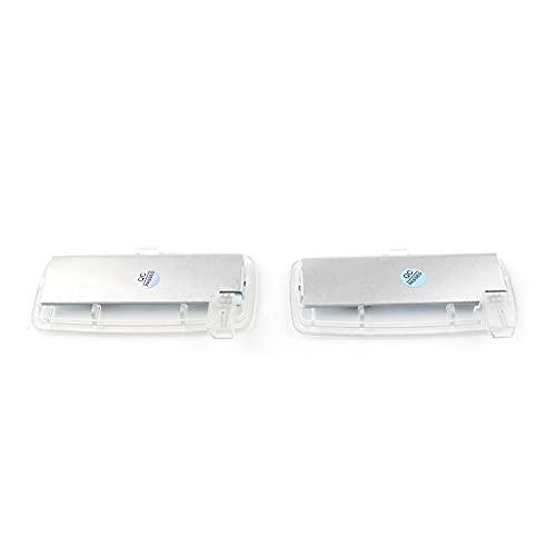 WUYANZI 2X Error Free LED SMD Car Vanity Mirror Visor Light Fit para BMW E88 E93 LCI Rolls-Royce RR2 DROPEPEAD / RR3 Coupé