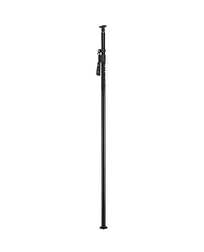 Manfrotto 432-3,7B - Monopods para cámaras, Soporte, 2.1-3.7 m, 2.6 kg Aluminio, Negro