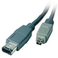 Vivanco FireWire-Kabel IEEE 1394b 4 pol. Stecker - 6 pol. Stecker 2m schwarz