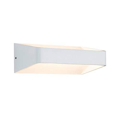Paulmann 70790 Wandleuchte Bar moderne Wandlampe LED Wandbeleuchtung 5,5W Lichtakzente Weiß Lichteffekte 2700K Warmweiß inklusive Leuchtmittel