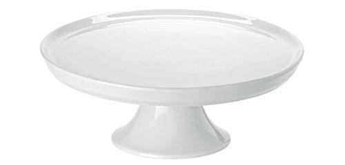Tortenplatten Lana, 31.5x10.0cm (DxH), weiß, Porzellan 1 Stück