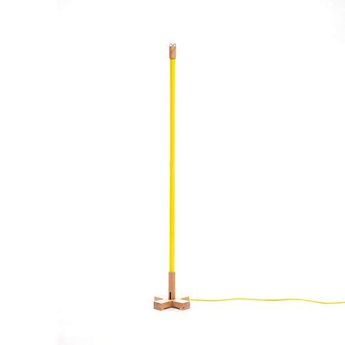 Seletti Linea Led lampada gialla