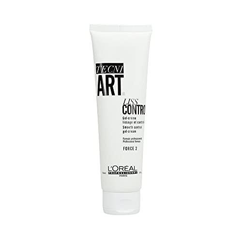 L\'Oréal Professionnel Paris Tecni.ART Liss Control, glättende Styling-Creme, 24h-Bändigung, für Glanz & Geschmeidigkeit, für dickes Haar, 150 ml