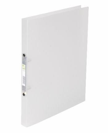 Schulordner A4 transluz.trans. CONNECT KF02914 16mm Material Polypropylen transluzent, farbl os milchig transparent, Ringbuch für For