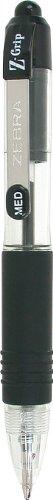 Zebra 2236 Pen Z-Grip Mini Ballpoint - Black (pack of 6)