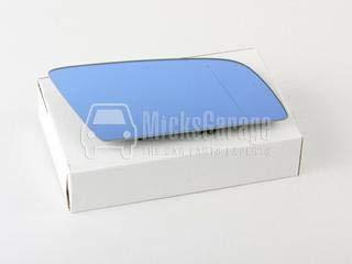 Aftermarket 6472845-5079, Miroir de Rétroviseur Droit Bleu (Chauffé) avec Support