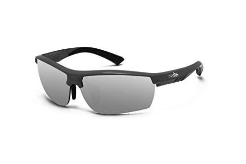 Zero RH+ Sunglasses Zero, Occhiali/Maschere Sportglasses End Unisex – Adulto, Flash Silver + Clear, One