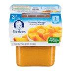 Gerber+NatureSelect+2nd+Foods+Mango+Fruit%2c+7+Ounce+--+8+per+case.