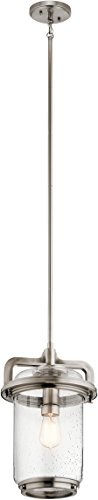Kichler Lighting 44211CLP One Light Pendant from The Andover Collection, Image