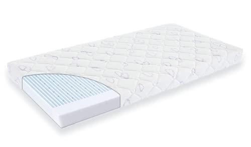 Träumeland Matratze Blaubaer Exclusiv | Babymatratze Kinderbett 60x120cm oder 70x140cm | Kindermatratze luftdurchlässig aus hochwertigem Schaum | Hygienebezug abnehmbar & waschbar