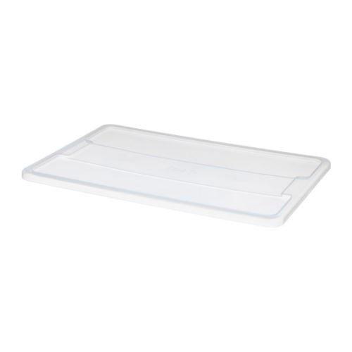 IKEA SAMLA Deckel für Box 45 bis 65 Liter; transparent