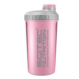 Scitec Nutrition Shaker, 700 ml, rosa