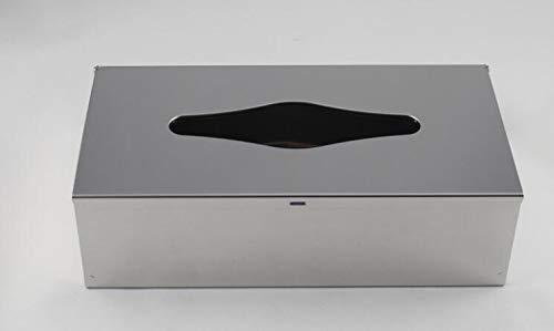 283-2 - Dispensador de papel de diseño moderno, dispensador de toallas de papel, acero inoxidable 18/8 (SUS304), alto brillo
