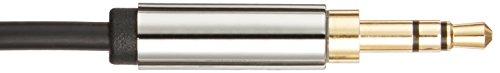 Amazonベーシックステレオミニプラグオーディオケーブル3.5mm2.4m