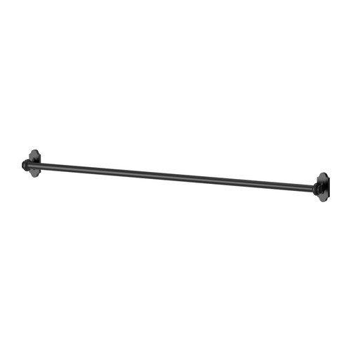 Ikea FINTORP -Schienen schwarz - 79 cm