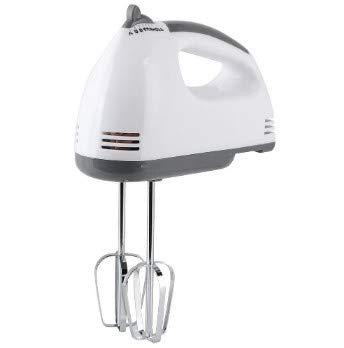 Tarente 7 velocidades Hogar eléctrico Handheld batidor de Huevo con Las Barras for los Huevos Pasta de amasamiento de golpeo (Enchufe de 220V UE)