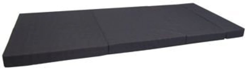 All Purpose Foldable Mattress - Black