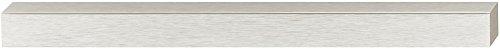Gedotec Glastürgriff zum Kleben Möbelgriff Edelstahl-Optik für Glastüren | Türgriff zum Aufkleben | Griff-Länge: 200 mm | Schrankgriff selbstklebend | 2 Stück - Klebegriffe für Schranktüren & Küche