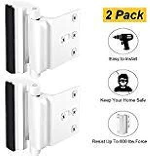 Home Security Door Lock, Childproof Door Reinforcement Lock with 3