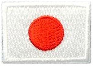日本 国旗 日の丸 アイロン ワッペン ミニ 約33x24mm