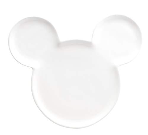 Joy Toy 62136 Mickey Mouse - Pendientes de cerámica, color blanco