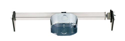 Westinghouse Lighting 0110000 Saf-T-Brace for Ceiling Fans, 3 Teeth, Twist and Lock,Silver(Pack of 1)