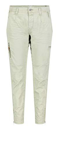 MAC Jeans Damen Rich Cargo Cotton Hose, 340V (sage), 36/28