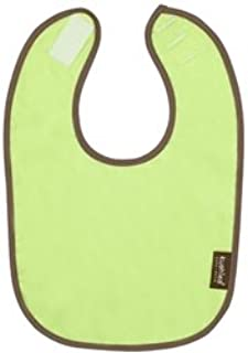 Kushies Taffeta Terry Reversible Waterproof Bib - Green